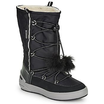 Sapatos Rapariga Botas de neve Geox J SLEIGH GIRL B ABX Preto