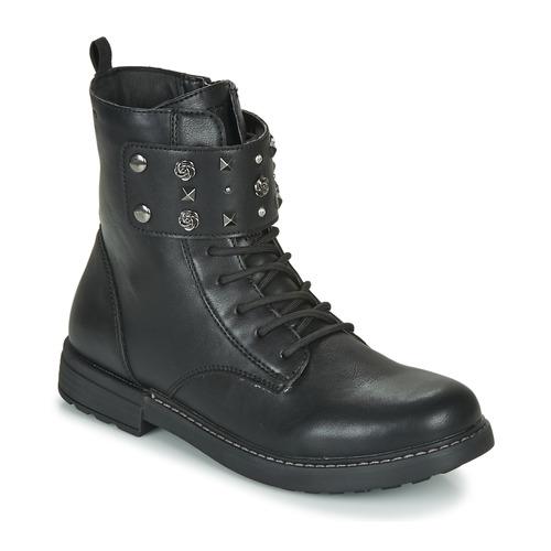 Sapatos Rapariga Botas baixas Geox J ECLAIR GIRL Preto