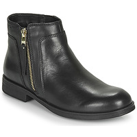 Sapatos Rapariga Botas baixas Geox JR AGATA Preto
