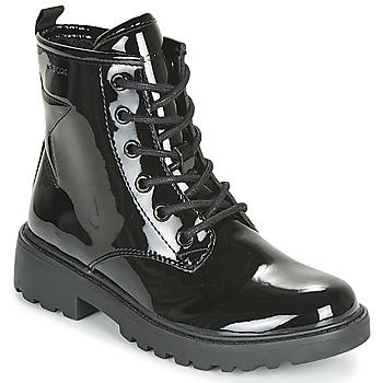 Sapatos Rapariga Botas baixas Geox J CASEY GIRL Preto