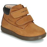 Sapatos Rapaz Botas baixas Geox B HYNDE BOY WPF Castanho
