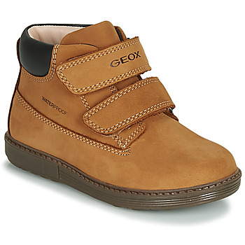Sapatos Rapaz Sapatilhas de cano-alto Geox B HYNDE BOY WPF Castanho