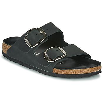 Sapatos Mulher Chinelos Birkenstock ARIZONA BIG BUCKLE Preto