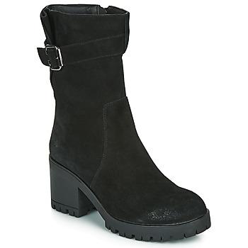 Sapatos Mulher Botas Les Petites Bombes BOUM Preto