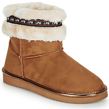 Sapatos Mulher Botas baixas Les Petites Bombes KITY Camel