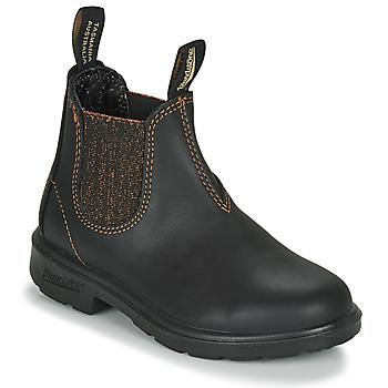 Sapatos Rapariga Botas baixas Blundstone KIDS-BLUNNIES-1992 Preto / Glitter