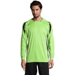 Textil Homem T-shirt mangas compridas Sols AZTECA SPORTS Verde