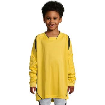 Textil Criança T-shirt mangas compridas Sols AZTECA KIDS  SPORT Amarillo