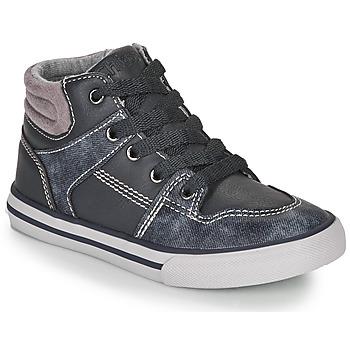 Sapatos Rapaz Sapatilhas de cano-alto Chicco CAMILLO Azul / Cinza