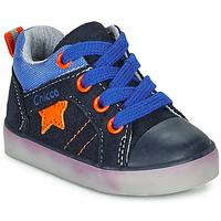 Sapatos Rapaz Sapatilhas de cano-alto Chicco GRADO Azul