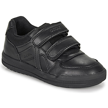 Sapatos Rapaz Sapatos Geox J ARZACH BOY E Preto