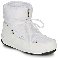Sapatos Mulher Botas de neve Moon Boot LOW NYLON WP 2 Branco