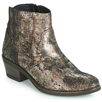 Sapatos Mulher Botas baixas Elue par nous FLO Bronze