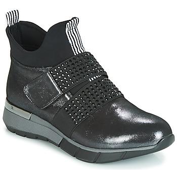 Sapatos Mulher Sapatilhas de cano-alto Metamorf'Ose FAGNO Preto