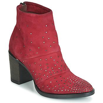 Sapatos Mulher Botins Metamorf'Ose FALCAO Vermelho