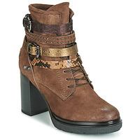 Sapatos Mulher Botins Metamorf'Ose FALENCIA Camel
