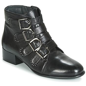 Sapatos Mulher Botas baixas Metamorf'Ose FAMO Preto