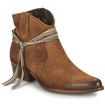 Sapatos Mulher Botas baixas Felmini SERRAJE Castanho