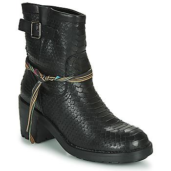 Sapatos Mulher Botins Felmini NAHA Preto