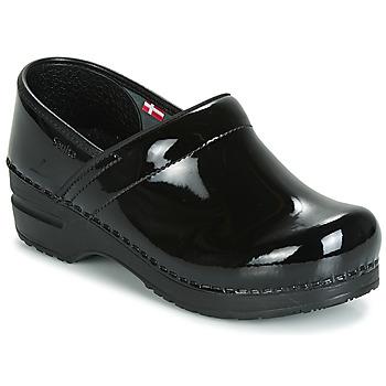 Sapatos Mulher Tamancos Sanita PROF Preto
