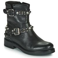 Sapatos Mulher Botas baixas Café Noir CHARLIE Preto