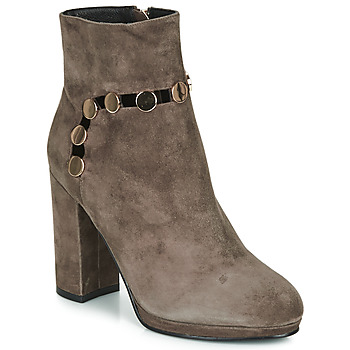 Sapatos Mulher Botins Café Noir JULIET Toupeira