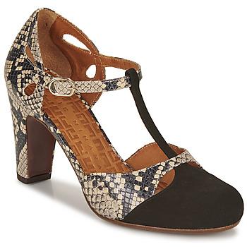 Sapatos Mulher Escarpim Chie Mihara KUNA Preto / Bege