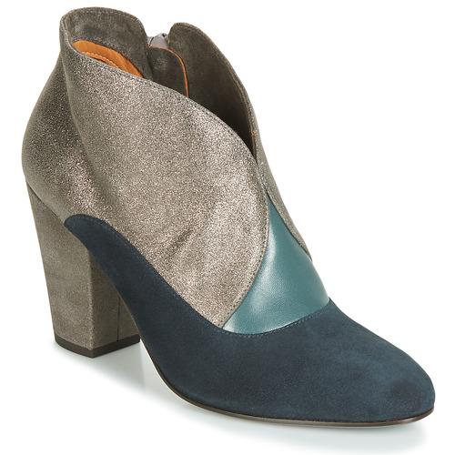 Sapatos Mulher Botins Chie Mihara ELGI Prata / Marinho