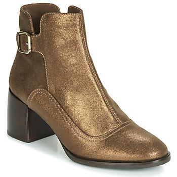 Sapatos Mulher Botins Chie Mihara OMAYO Ouro