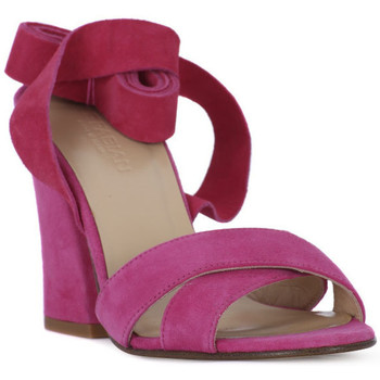 Sapatos Mulher Sandálias Le Fabian FUXIA CAMOSCIO Rosa