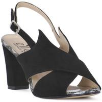 Sapatos Mulher Sandálias Ellen CAMOSCIO NERO Nero