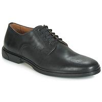 Sapatos Homem Sapatos Schmoove BANK-DERBY Preto