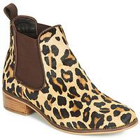 Sapatos Mulher Botas baixas Ravel GISBORNE Leopardo
