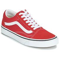 Sapatos Sapatilhas Vans OLD SKOOL Vermelho