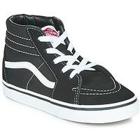 Sapatos Criança Sapatilhas de cano-alto Vans TD SK8-HI Preto / Branco
