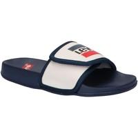 Sapatos Criança chinelos Levi's VPOL0021S GAME Blanco