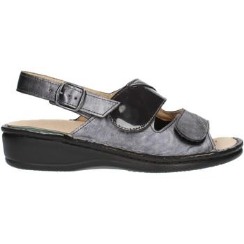 Sapatos Mulher Sandálias Clia Walk Estraibile410 Cinza