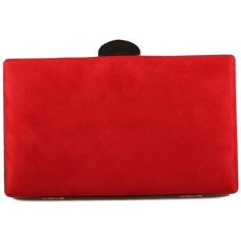 Malas Mulher Pouch / Clutch Luna Collection 41120 vermelho