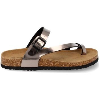Sapatos Mulher Sandálias Shoes&blues M-15 Plata