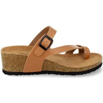 Sapatos Mulher Sandálias Silvian Heach M-28 Camel
