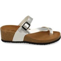 Sapatos Mulher Sandálias Silvian Heach M-28 Plata