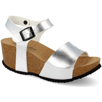 Sapatos Mulher Sandálias Shoes&blues M-77 Plata