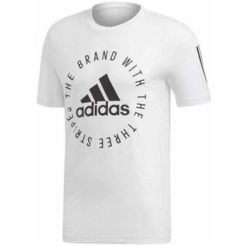 Textil Homem T-Shirt mangas curtas adidas Originals Sid Tee Branco