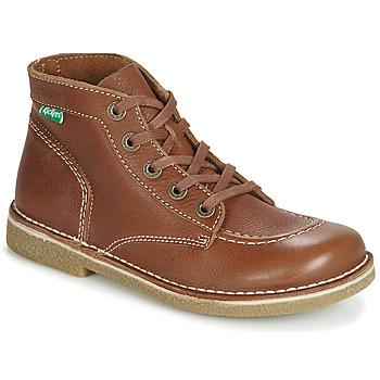 Sapatos Mulher Botas baixas Kickers LEGENDIKNEW Camel