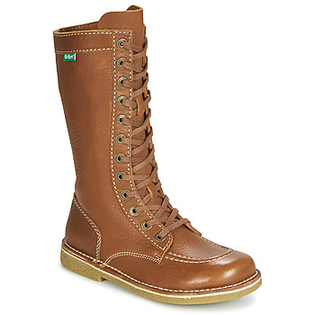 Sapatos Mulher Botas Kickers MEETKIKNEW Camel