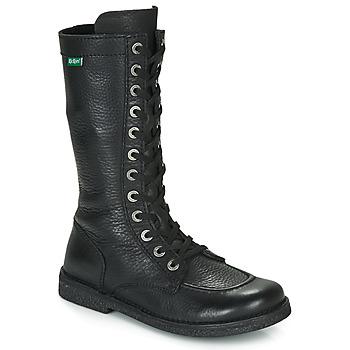 Sapatos Mulher Botas Kickers MEETKIKNEW Preto