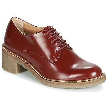 Sapatos Mulher Sapatos Kickers OXYBY Vermelho