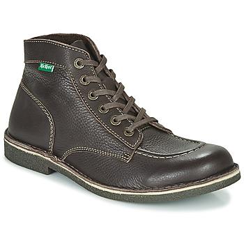 Sapatos Homem Botas baixas Kickers KICKSTONER Castanho / Escuro