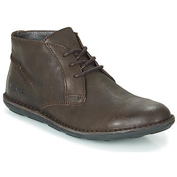 Sapatos Homem Botas baixas Kickers SWIBO Castanho
