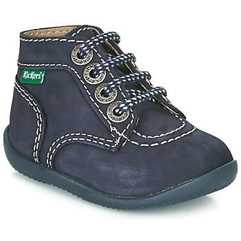 Sapatos Criança Botas baixas Kickers BONBON Marinho